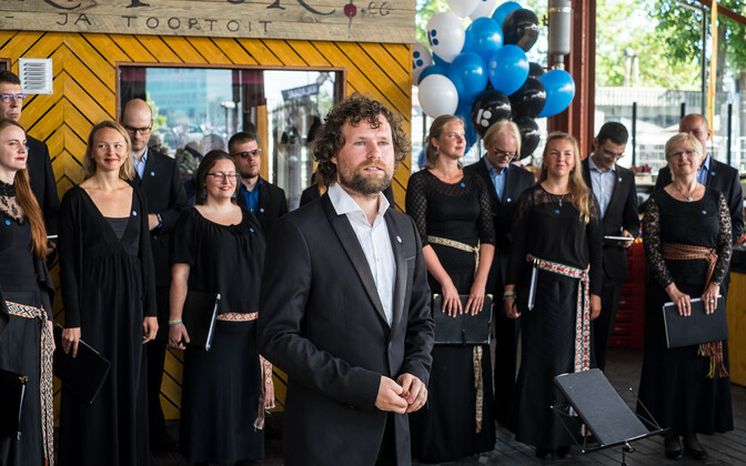 Collegium Musicale esines Balti jaama turul