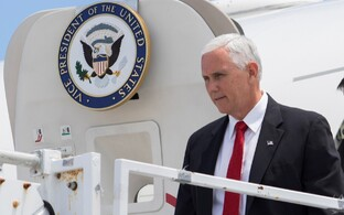 U.S: Vice President Mike Pence.
