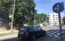 Kooli juures olev lamav politseinik Kotzebue tänaval.