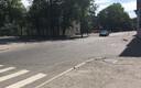 Liikluse rahustamine Kadriorus plastikust lamava politseinikuga.