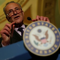 Senati vähemuste liider Chuck Schumer.