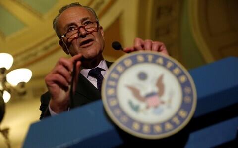Лидер демократического меньшинства в сенате Чак Шумер.
