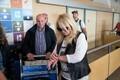 Bonnie Tyler Tallinna lennujaamas