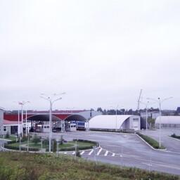 Многосторонний автомобильный пункт пропуска (МАПП) Шумилкино.