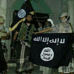 Al-Qaeda mässulised 2014. aastal.