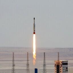 Iraani raketikatsetus.