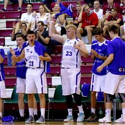 U-18 korvpallikoondislased
