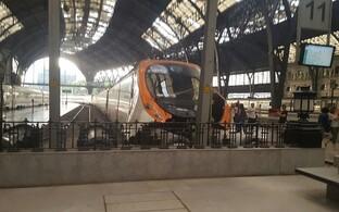 Rongiõnnetus Barcelonas.