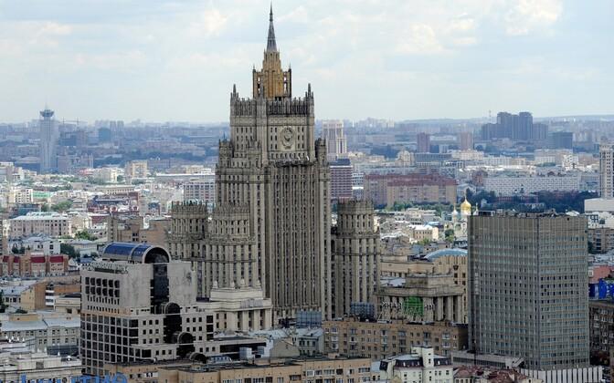 Venemaa välisministeeriumi hoone Moskvas.