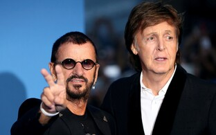 Ringo Starr ja Paul McCartney