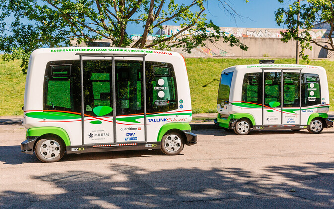 These driverless buses will begin serving the limited Central Tallinn route on Saturday, July 29.