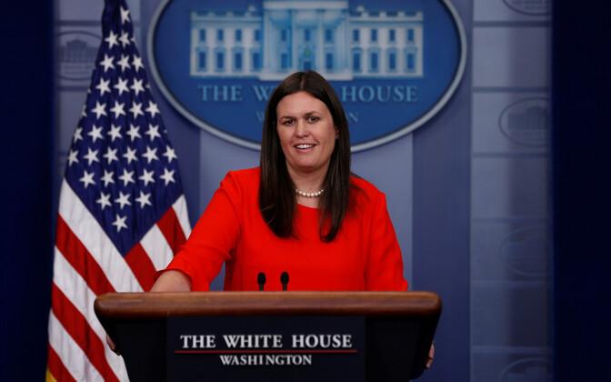 Valge maja pressiesindaja Sarah Huckabee Sanders.