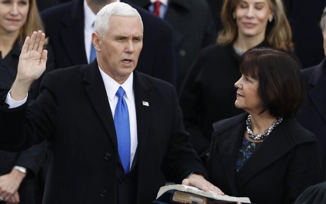 Mike Pence ja Karen Pence.