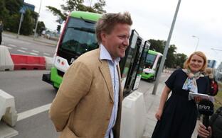 В Таллинне к перевозке пассажиров приступили самоуправляющиеся автобусы