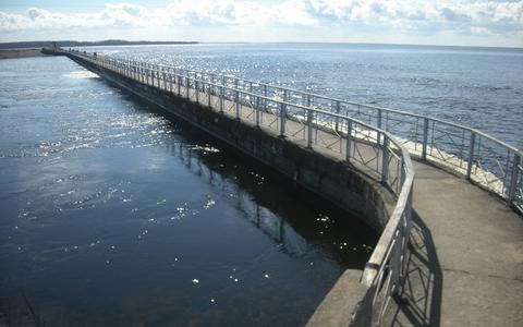 Нарвское водохранилище.