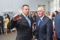 U.S. Vice President Mike Pence visits Stenbock House. July 30, 2017.