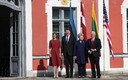 U.S. Vice President Mike Pence with the Presidents of Estonia, Latvia and Lithuania at Kadriorg. July 31, 2017.