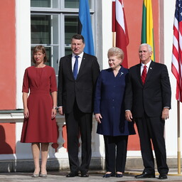 U.S. Vice President Mike Pence at Kadriorg. July 31, 2017.