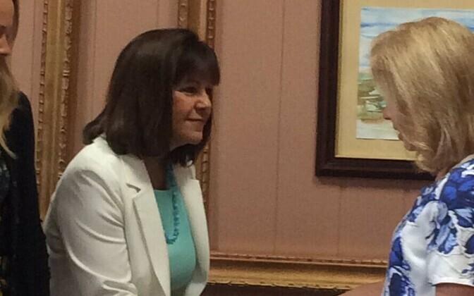 USA asepresidendi abikaasa Karen Pence Tallinnas.