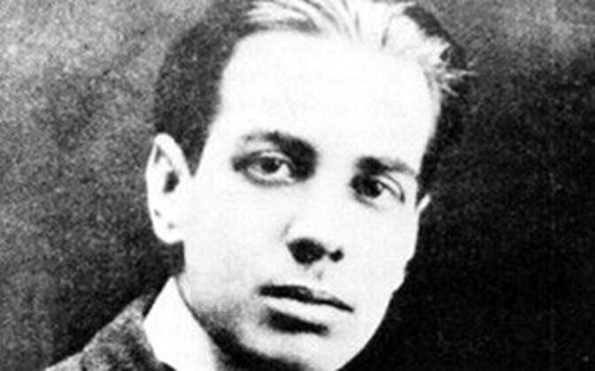 Jorge Luis Borges 1921. aastal.