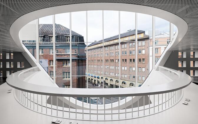 Главная библиотека Хельсинского университета.