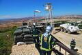 ESTPLA-23 peacekeepers practice defending base in Lebanon. July 30-31, 2017.
