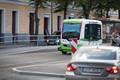 Беспилотный автобус на бульваре Мере.