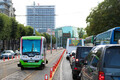 Twin driverless buses debuted in Tallinn at the end of July have in their first few days of operation managed to avoid incident. Aug. 1, 2017.