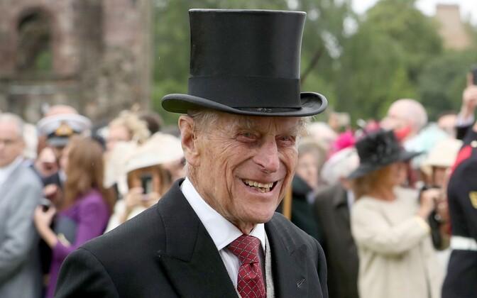 Prints Philip 2017. aasta juulis Edinburghis aiapeol.