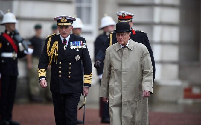 Prints Philip täitis viimast korda esindusülesandeid