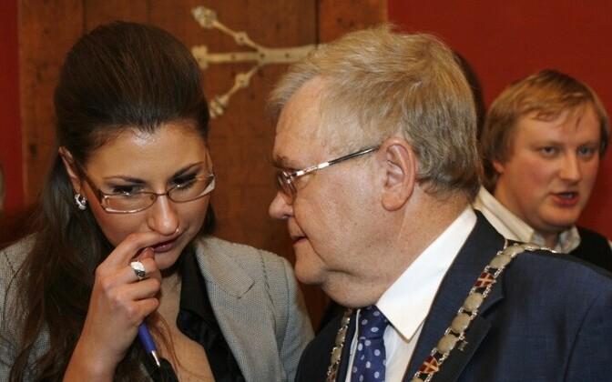 Ольга Иванова и Эдгар Сависаар пойдут на местные выборы вместе.