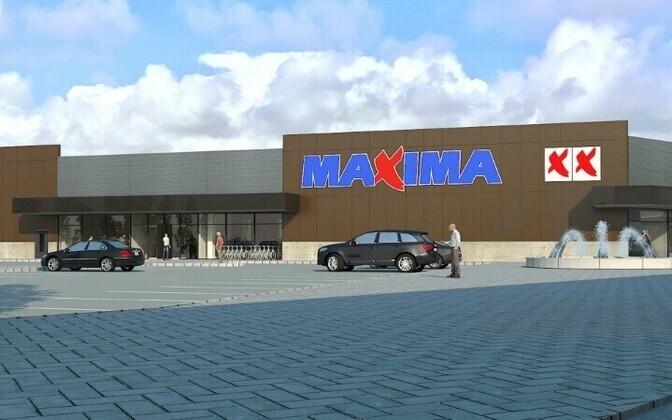 На улице Павлова в Силламяэ может появиться вот такой торговый центр.
