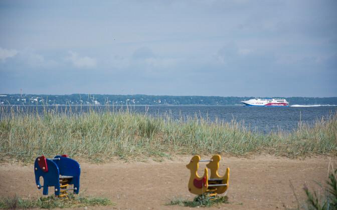 Пляж Пальяссааре.