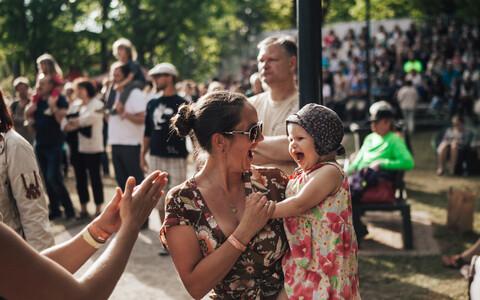 Viljandi Folk attracts attendants of all ages.