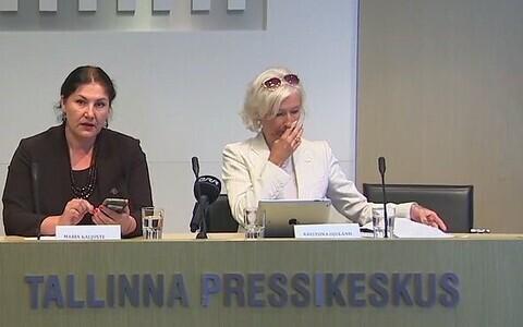 Мария Кальюсте (слева) и Кристийна Оюланд.