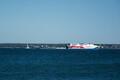 Saabuva Viking FSTR tekitatud lained Lennusadamas