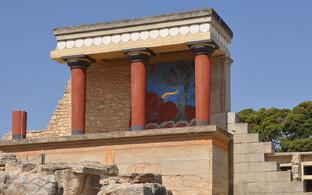 Minose kultuuri keskmeks olnud Knossose palee.