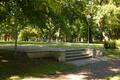 Коплиский кладбищенский парк после ремонта.
