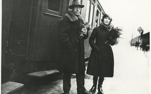 Igor Severjanin ja Felissa Kruut Jugoslaavias 1930-1931.