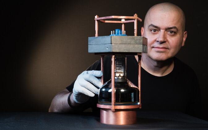 Juan Collar COHERENT detektori mudeliga