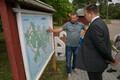 Prime Minister Jüri Ratas (Center) visiting the island of Vormsi on Friday. Aug. 4, 2017.