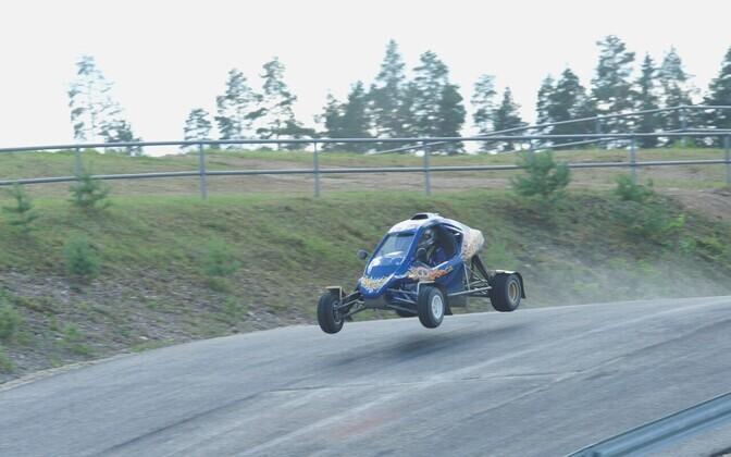 Crosskart Racing Estonia: Sten Oja uue klubi Crosskart Racing Estonia tutvustusüritusel