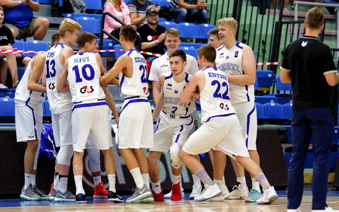 Mullune U-18 EM veerandfinaal: Eesti - Poola / Eesti U-18 korvpallikoondis
