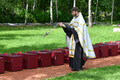 В Синимяэ перезахоронили останки советских воинов.