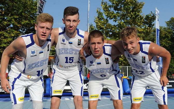 Eesti U-18 3x3 korvpallikoondis