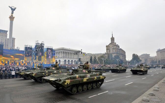 Ukraina iseseisvuspäeva paraad Kiievis 2016. aastal.