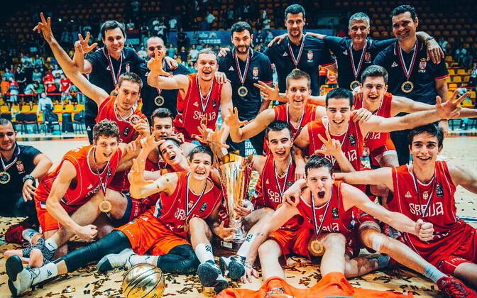 Serbia U-18 korvpallikoondis