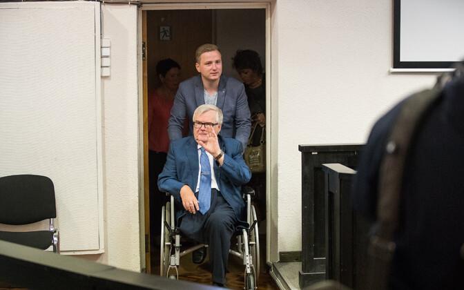 Edgar Savisaar ja Marius Rosenblatt.