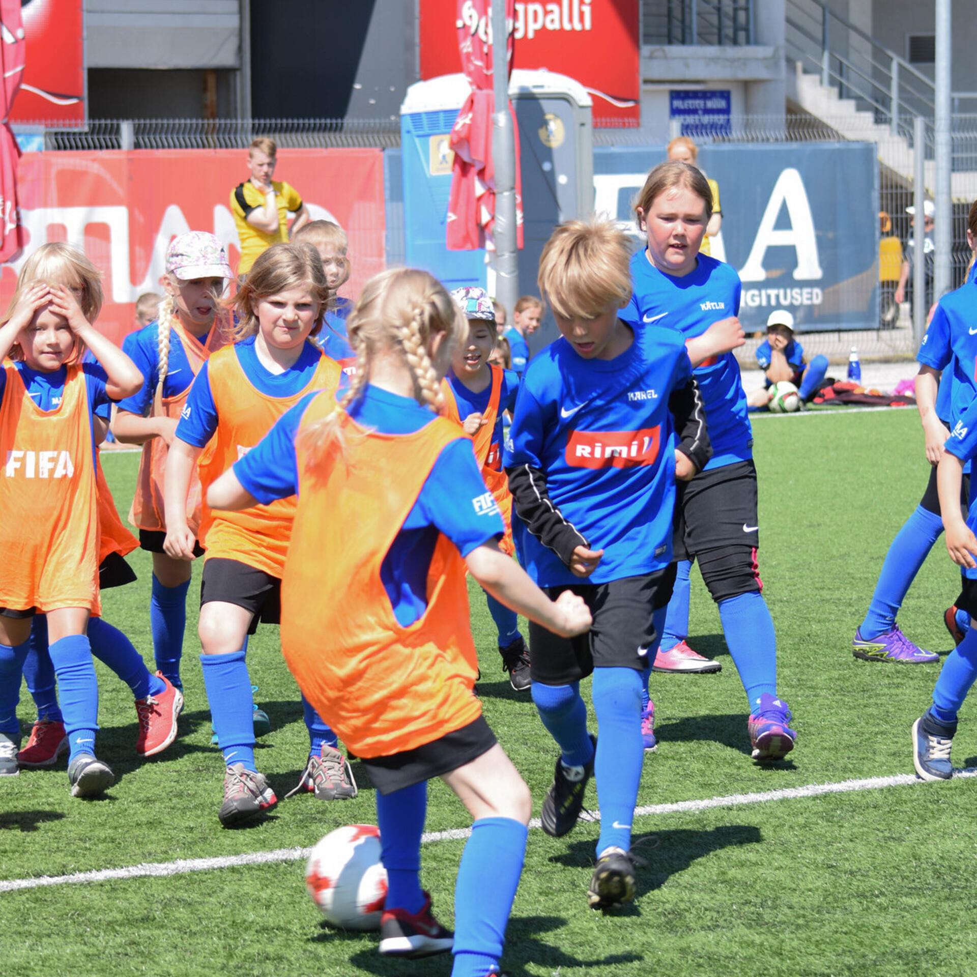 18b67d6af8d Teisipäeval algab registreerimine jalgpalli suvelaagritesse | Jalgpall | ERR