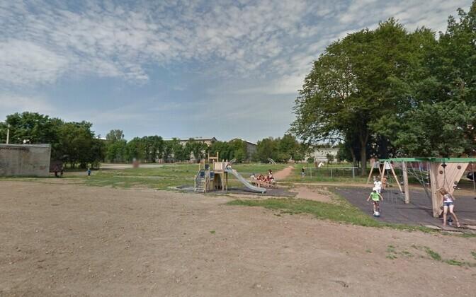На пустыре за Школой №6 в Нарве построят новый стадион.